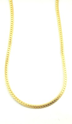 Korea Fashion twisted butterfly 22K Yellow Gold Plated Brass Chain