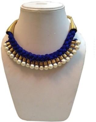 Minha Mother of Pearl Silk Dori Necklace