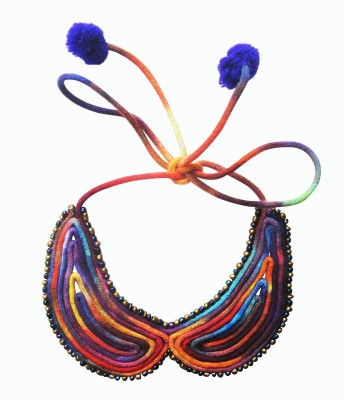 Juhi Malhotra Cool Collar Cotton Dori Choker