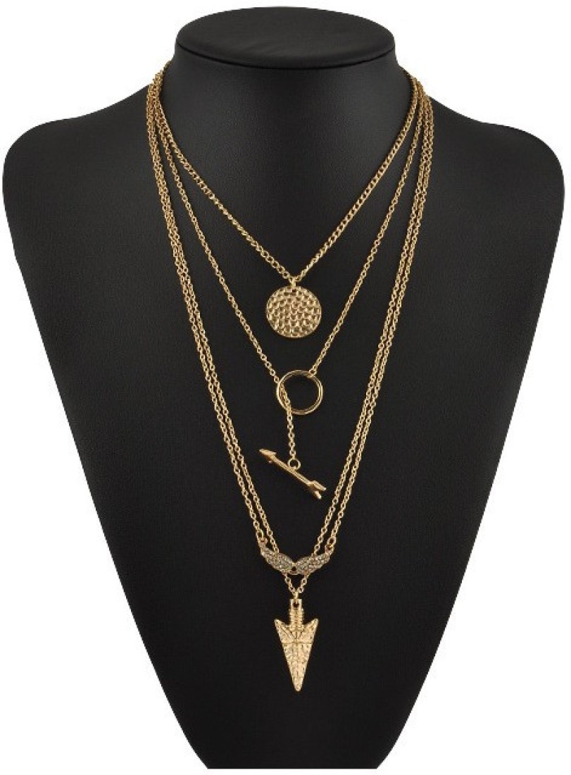 Deals - Delhi - Layered Jewellery <br> Pendants, Earrings and more<br> Category - jewellery<br> Business - Flipkart.com