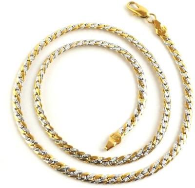 Seeyara stylish chic 22K Yellow Gold Plated Brass Chain