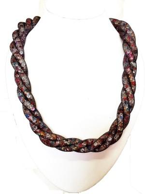 skhoza Fabric Necklace