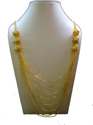 Minha Brass Plated Brass Chain