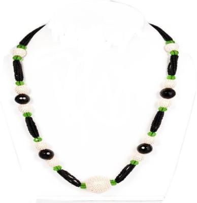 shalini jewlles Beads, Crystal Plastic, Crystal, Metal Necklace