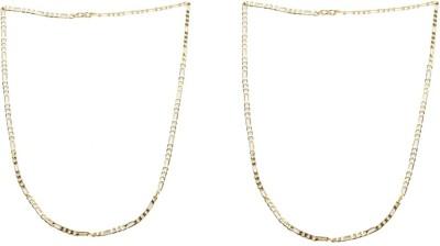 Sondagar Arts Yellow Gold Plated Brass Chain