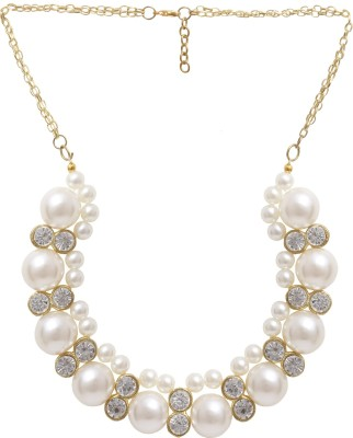 Minha Pearl Alloy Necklace