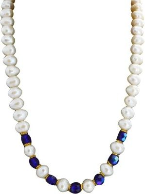 Bird In Blue Blue Beauty Pearl Stone Necklace