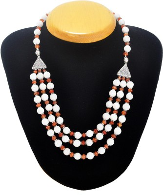 Cosmic 7 Jewellery Chalcedony Alloy Necklace