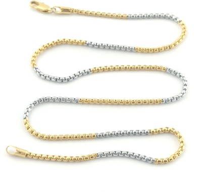 Seeyara love forever 22K Yellow Gold Plated Brass Chain