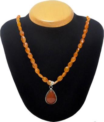 Cosmic 7 Jewellery Carnelian, Onyx Silk Dori Necklace