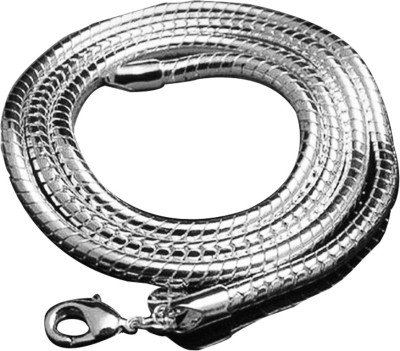 Maya Snake Chain - Latest Sterling Silver Plated Sterling Silver Chain