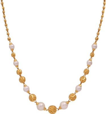WHP Jewellers GMALD15081318 Precious Chain(Yellow Gold 22kt NA)