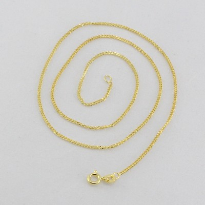 Kirati Yellow Gold Plated Silver Chain