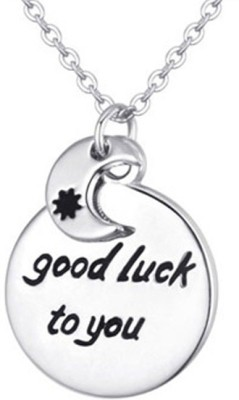 Young & Forever Wish Your Loved Ones Good Luck Alloy Necklace