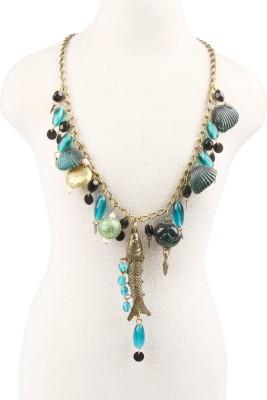 Via Harp salazburg necklace Glass Chain