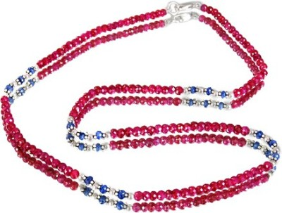 Avaatar Rubies String Stone Necklace