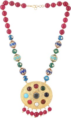Mayra Handicrafts Delightful Brass Necklace
