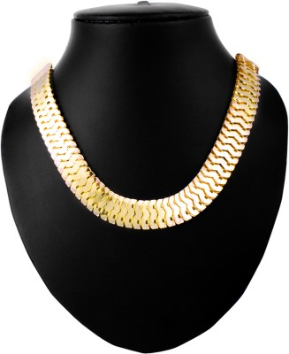 Anvi Jewellers Rose Gold Plated Metal Chain