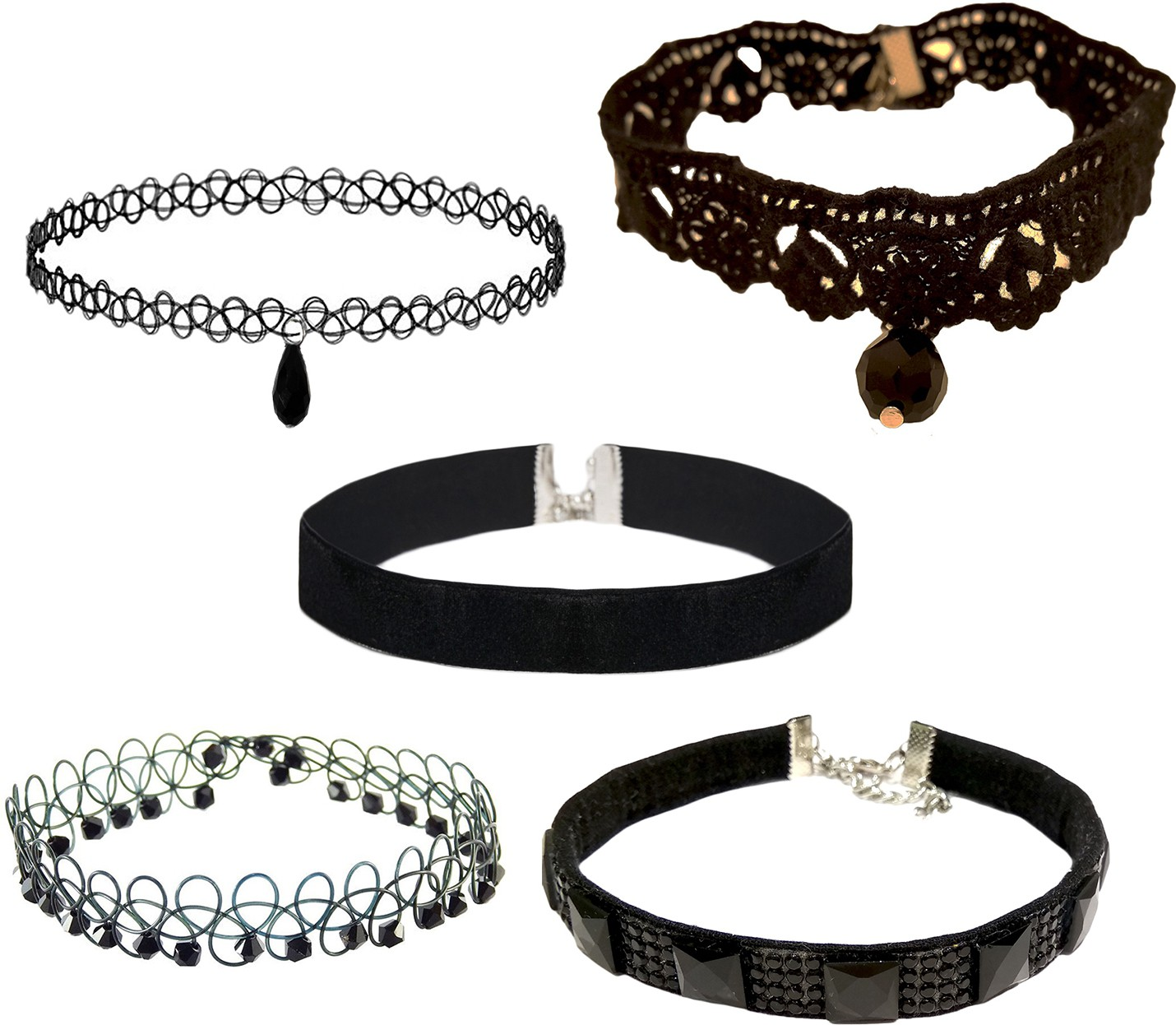 Deals - Delhi - Choker Necklaces <br> Be in Trend<br> Category - jewellery<br> Business - Flipkart.com