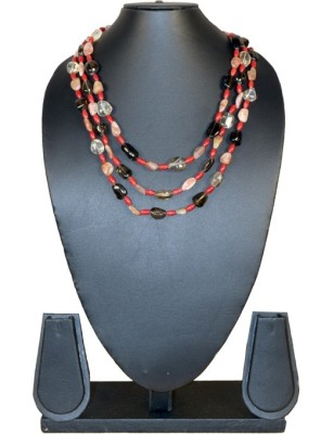 Needle Kraft Beads Stone Necklace