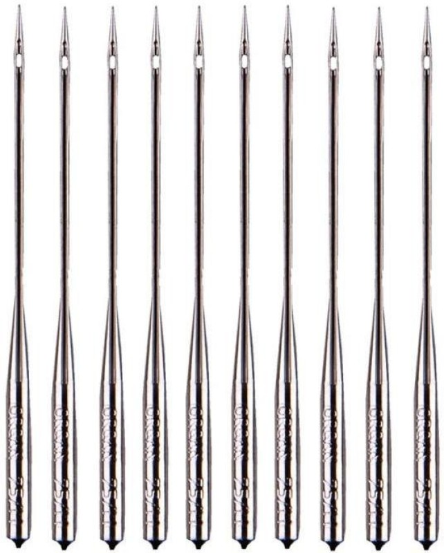 Vardhman Machine Sewing Needle(Chromium Ball Point Needle HA 16 Pack of 10)