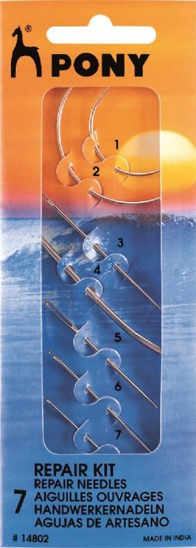 pony Hand Sewing Needle(Curved Needle Needle 8 cm Pack of 7)