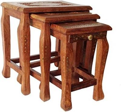 Mavi Solid Wood Nesting Table