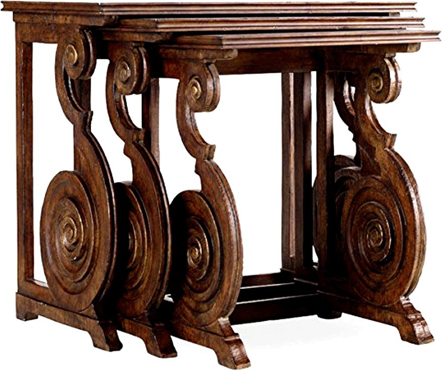 SMARVVV PRODUCTIONS Smart and Stlyish Engineered Wood Nesting Table