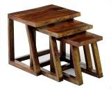 Ringabell Twees Solid Wood Nesting Table...