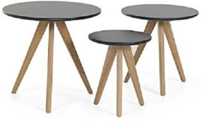 SMARVVV PRODUCTIONS Smart and Stylish Solid Wood Nesting Table