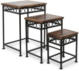 Onlineshoppee Solid Wood Nesting Table (...