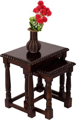 Wood Dekor Solid Wood Nesting Table