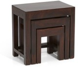 HomeEdge Solid Wood Nesting Table (Finis...