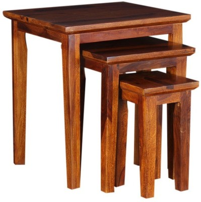 d.k.arts Solid Wood Nesting Table