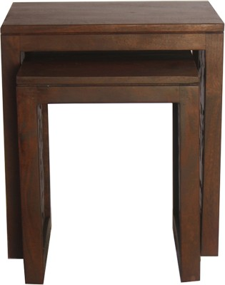 HomeTown Aamer Solid Wood Nesting Table