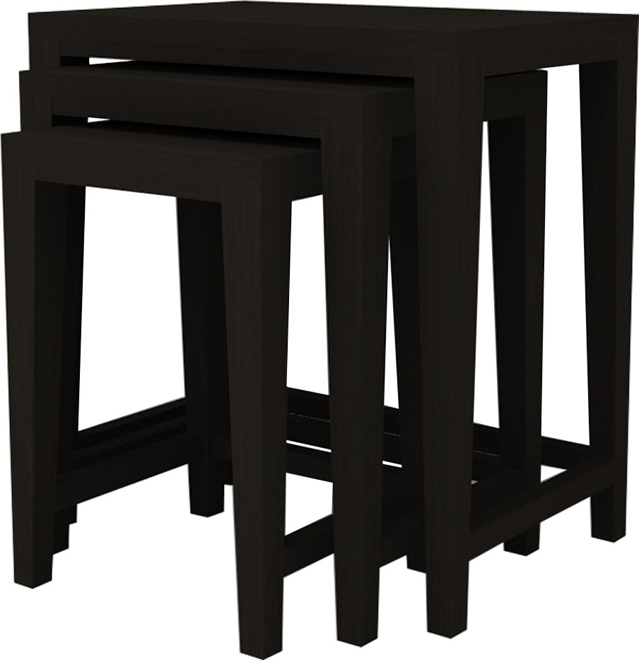 Adona Solid Wood Nesting Table class=