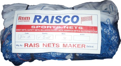 RAISCO NETS MAKER RAISCO VOLLEYBALL NET Volleyball Net(Blue)