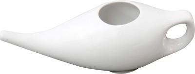 TAPAS Ceramic White Neti Pot