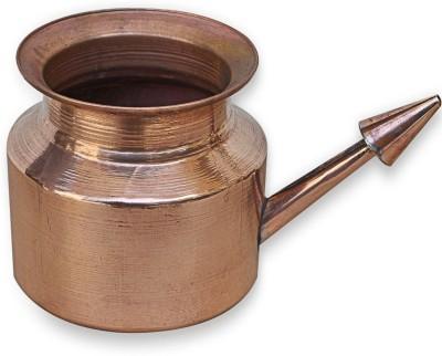 DIVYA JYOTI Copper Brown Neti Pot(400 ml)