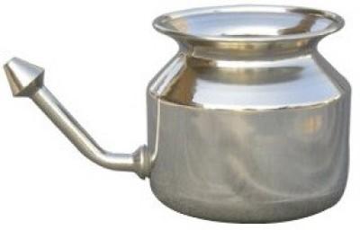 HealthAndYoga Steel Steel Neti Pot(500 ml)