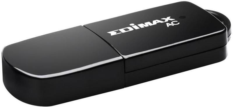 Edimax EW-7811UTC AC600 Wireless adapter Network Interface Card(Black)