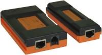 ROQ New Mini Pro Rj45 & Rj11 Lan Deta Cable Tester Network Interface Card(Orange)