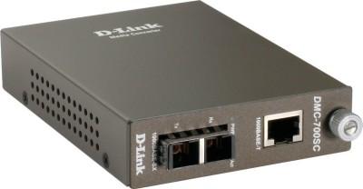 D-Link DMC-700SC Gigabit Multimode SC Media Converter 1000BASE-T to 1000BASE-SX Network Switch(Grey)