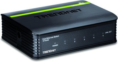 TRENDnet 5-Port 10/100Mbps Network Switch