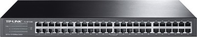 TP-LINK 48-Port 10/100 Mbps Rackmount Switch(Black)