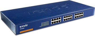 Tenda 10/100 Mbps 24-Ports Fast Ethernet Rackmountable Network Switch