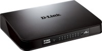 D-Link DGS 1016A Sixteen 10/100/1000 Mbps Fast Ethernet ports Network Switch(Black)