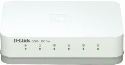 D-Link 5 Port Gigabit (DGS-1005A) Network Switch
