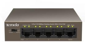 Tenda TE-F1105P POE SWITCH Network Switch(Grey)