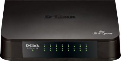 D-Link DES-1016A 16-Port 10/100 Network Switch